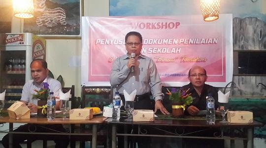 Workshop Penyusunan Dokumen Penilaian Ujian Sekolah 2016